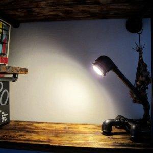 Steampunková lampička IDEA