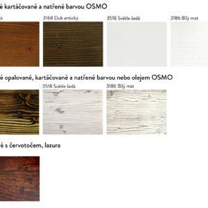 Vzorky dřeva