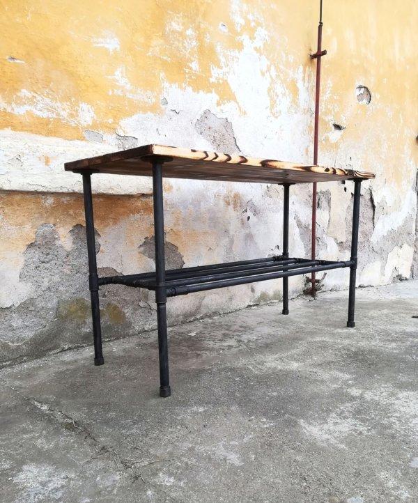 Industriální stolek pod umyvadlo Waschtisch
