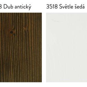 Vzorky dřeva - kartáčované