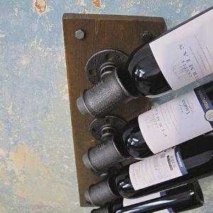 Nástěnný držák lahví Držák Flaschenhalter