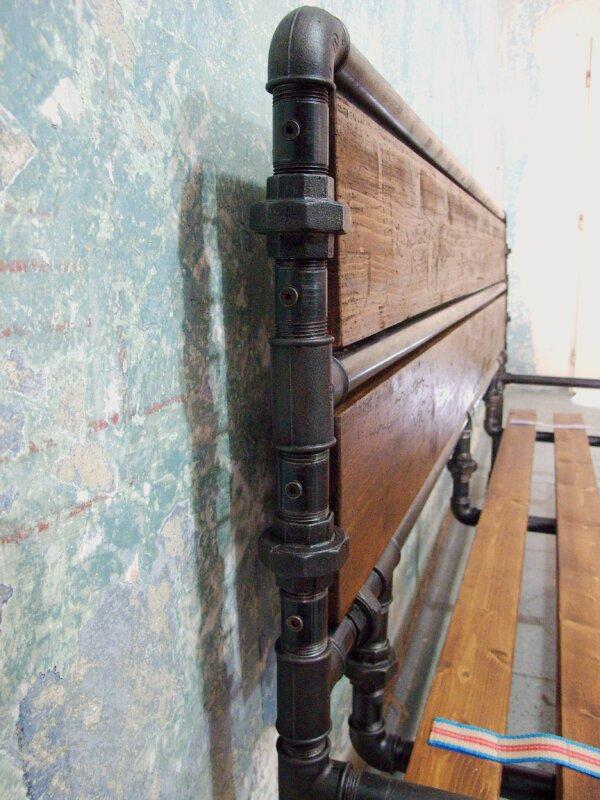 Ocelová postel Maria Theresia - tmavé čelo